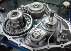 自动变速器检修是完成全自动换挡