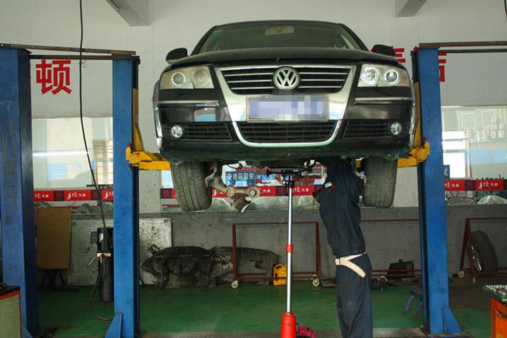大众帕萨特汽车变速箱的故障检修
